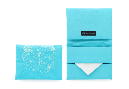 SACHET POCKET TISSUE HOLDER N BLUE
