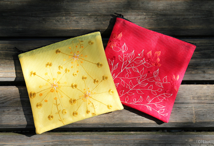 SACHET POUCH 2017 YELLOW/RED 発売